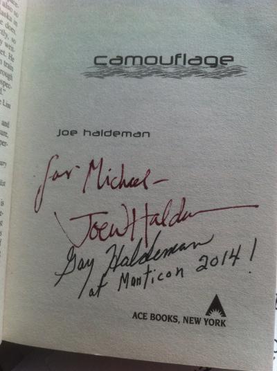Autogramm von Joe Haldemann
