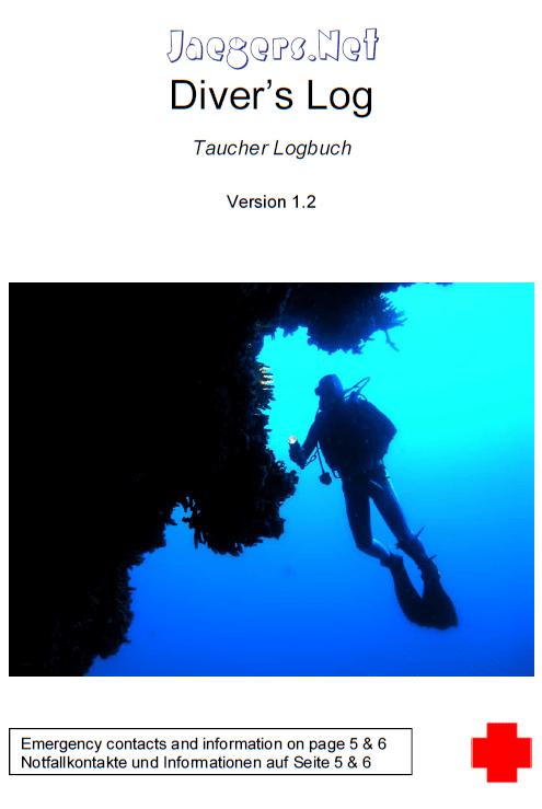Taucher Logbuch