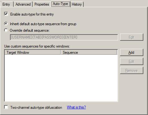KeePass Auto-Type
