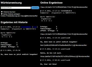 Online Würfel Tool mit Online Funktionen