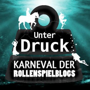farbiges Logo zum Karneval der Rollenspielblogs im März 2016
