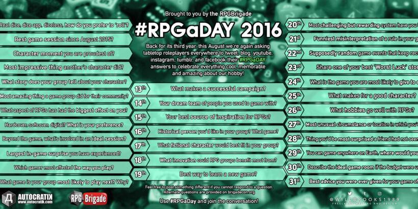 #RPGaDAY2016